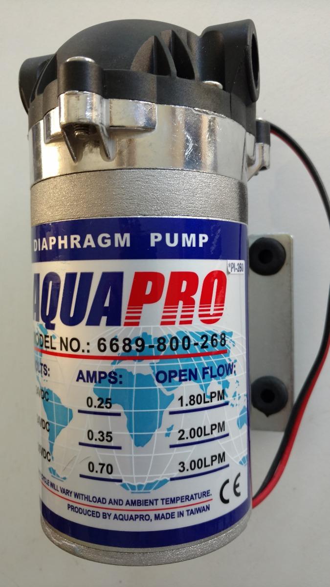Bomba Osmosis Inversa 24 Volts Nueva. Orig Hidrolit