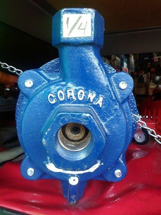 Bomba para agua de 3 4hp corona con motor siemens for Bomba de agua siemens