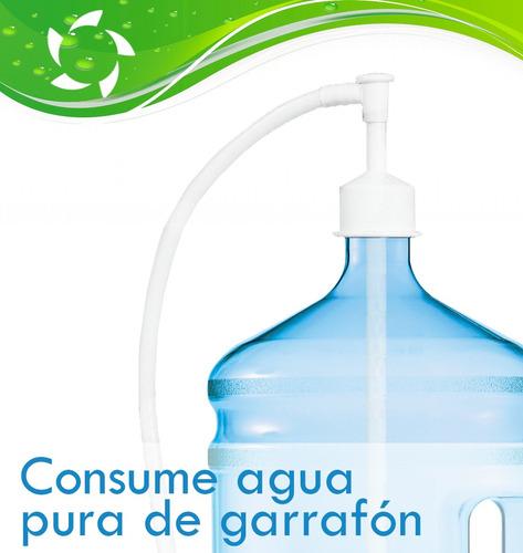 bomba para agua y hielo de refrigerador duplex. promoción