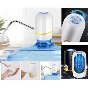 Bomba Para Galao Agua Eletrica Recarregavel 10 / 20 Litros