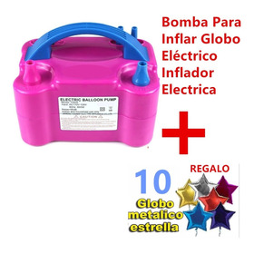 Bomba Para Inflar Globos Eléctrica + Regalo 10 Globos Update