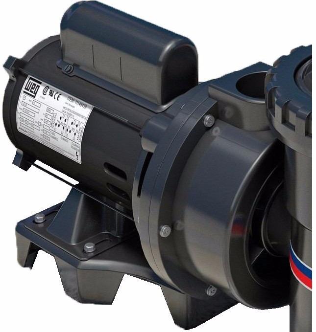 Bomba para piscina albacete 1 3 cv motor nacional mod app 1 r 514 00 em mercado livre - Motores de piscina ...