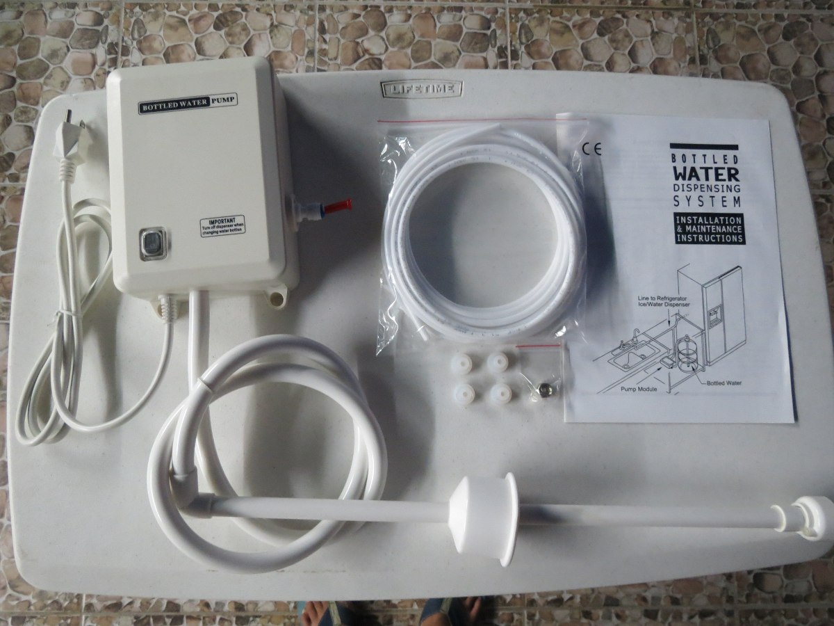 Bomba Para Refrigerador Dispensador De Agua Y Hielos