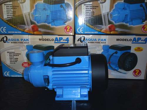 bomba periférica para agua marca aqua pak de 0.5 hp