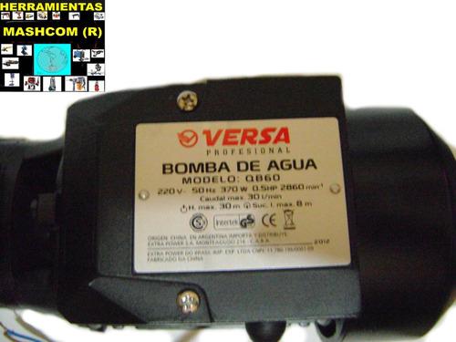 bomba periferica versa q b-60-para lavado de presion