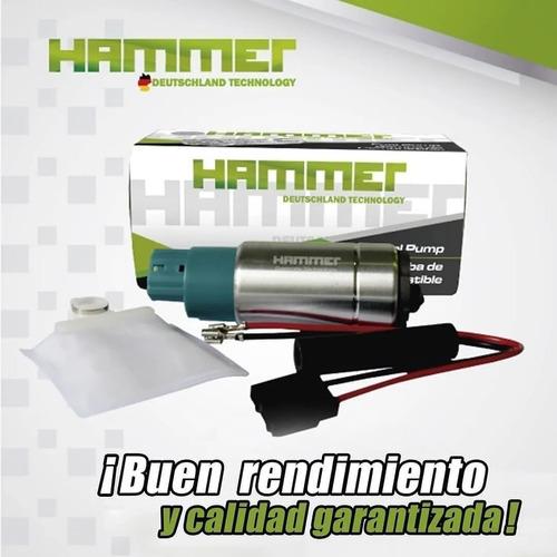 bomba pila gasolina universal hammer 2068 1 mes garantia