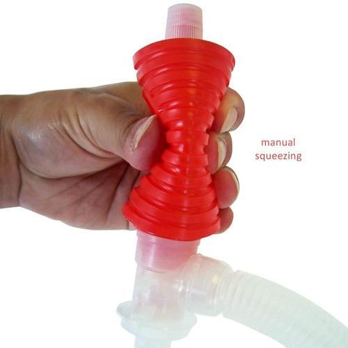 bomba plástica trasvase manual bidón  nafta gasoil kerosene
