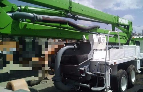 bomba pluma para concreto de 28 mts