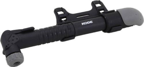 bomba pneu bike mini telesc. kode c/ suporte  - 12x s/ juros