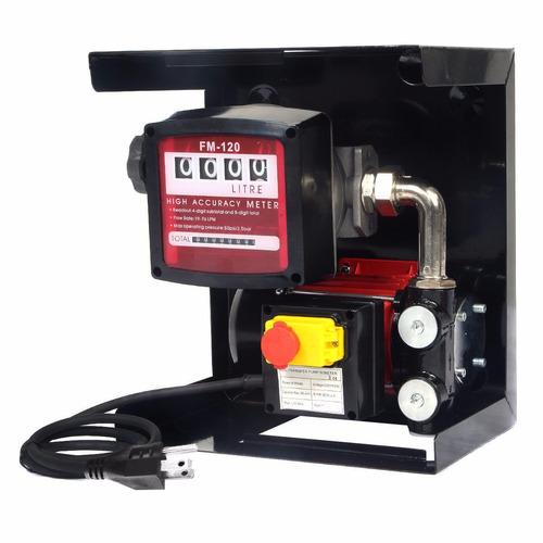 Bomba portatil despachadora de diesel electrica con for Bomba manual para pintar con cal