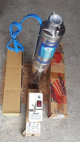 bomba pozo profundo, 1/2 hp, marca pedrollo, monofásica.