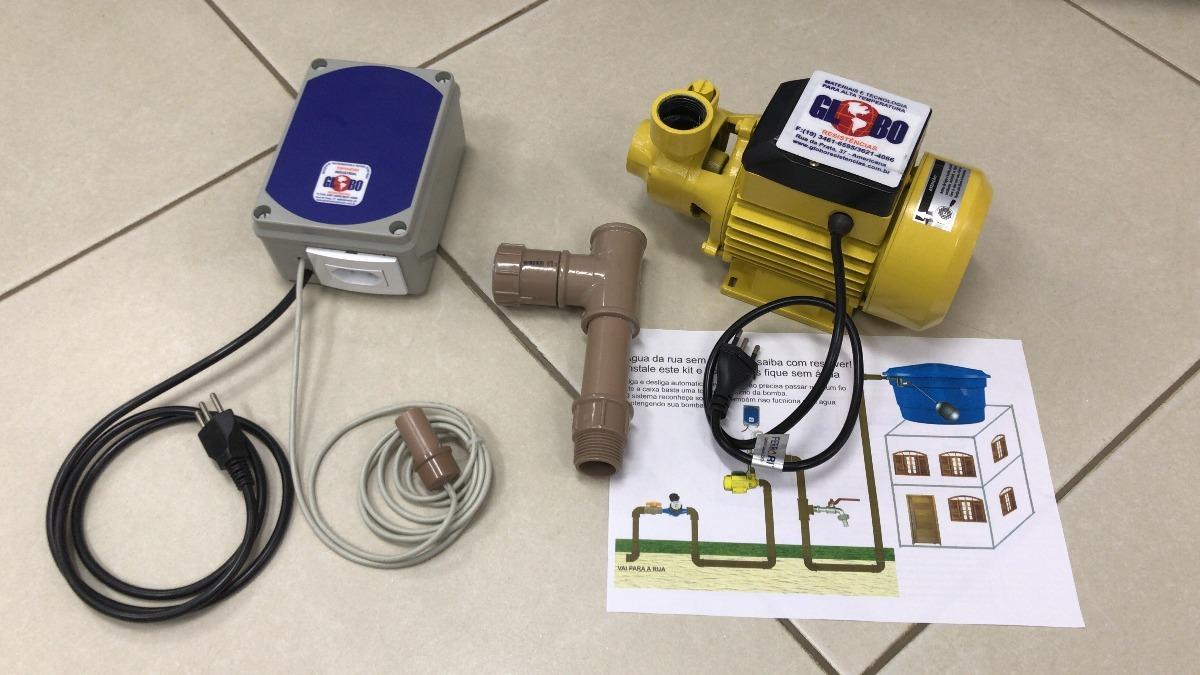 b48c3000fd9 Bomba Pressurizador De Hidrometro Agua De Rua Lig desl Autom - R ...