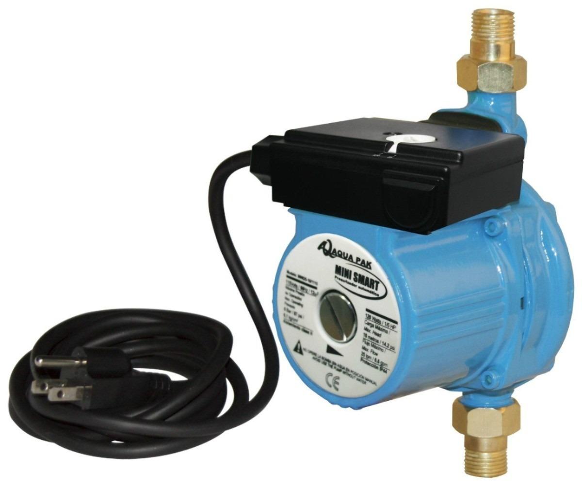 Bomba presurizadora marca aqua pak mini smart 1 6 hp for Marcas de regaderas