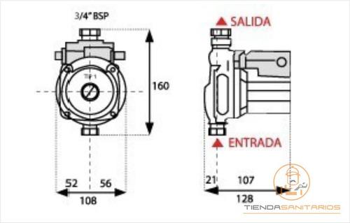 bomba presurizadora motorarg linea tip1 mas presion de agua