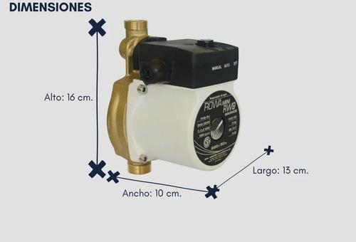 bomba presurizadora rowa mini 9 bronce mayor presion caudal