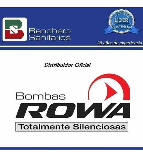 bomba presurizadora rowa modelo tango 20 press mayor presión