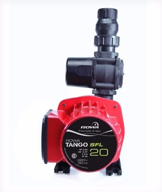 bomba presurizadora rowa tango 20 sfl. mas presion mas agua