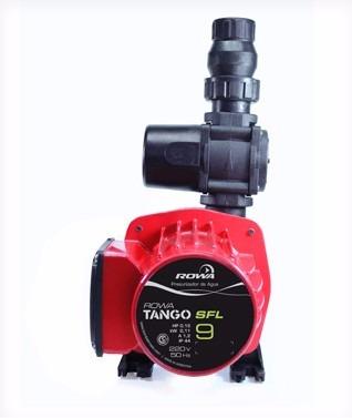 bomba presurizadora rowa tango 9 sfl. mas presion mas agua!