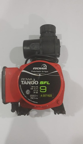 bomba presurizadora rowa tango sfl 9