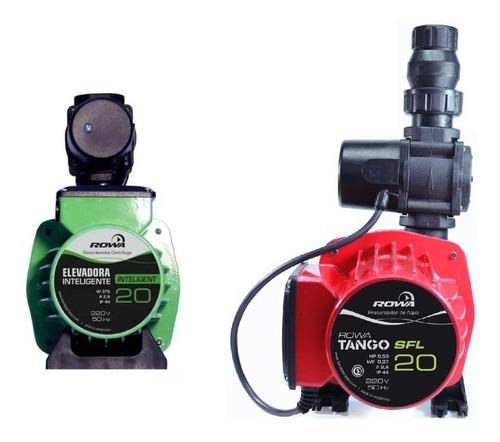 bomba presurizadora tango sfl 20 + bomba inteligente 20 rowa