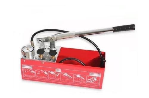 bomba prueba hidráulica manual ips 50 bar profesional