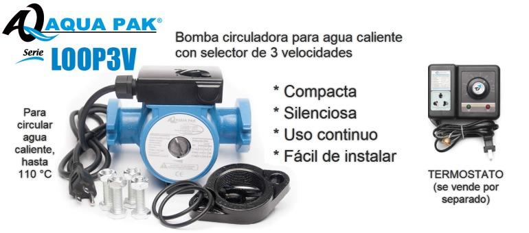Bomba Recirculadora Para Agua Caliente Aquapak 3