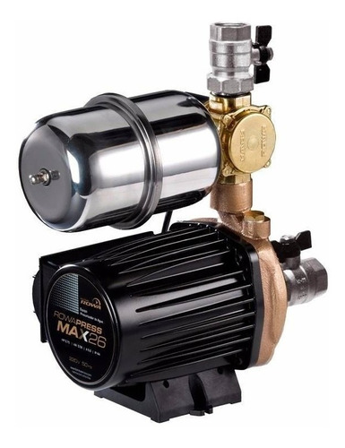 bomba rowa presurizadora max press 26 de 1 a 6 baños 6500 l