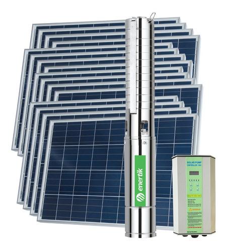 bomba solar sumerg centr bssc4-88-1000-110v + paneles cuotas