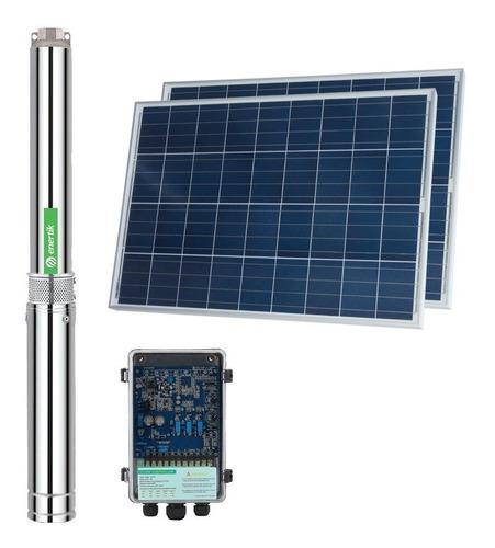 bomba solar sumergible centrífuga bsc3-12-120-24v + paneles