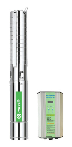 bomba solar sumergible centrífuga bssc4-60-1500-150v enertik