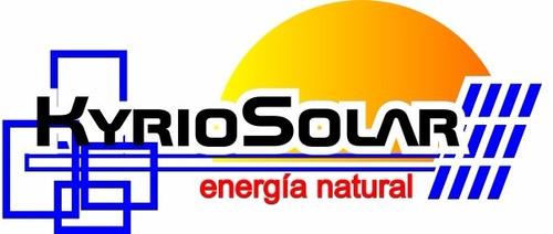 bomba solar sumergible con paneles y baterias