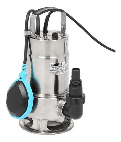 bomba submersa limpa fossa aço inox 0.75hp 110 ou 220v gamma