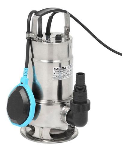 bomba submersa limpa fossa aço inox 0.75hp 3/4cv gamma zrm