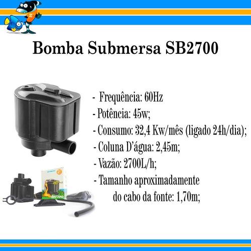 bomba submersa sarlo better sb2700 sb2700
