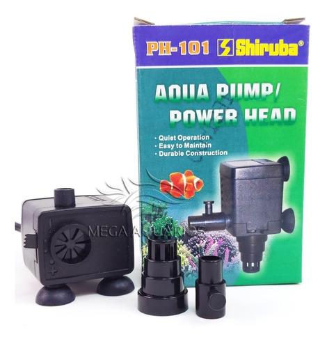 bomba submersa shiruba 150l/h 110v ph101 aquários, fontes