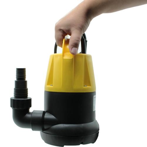 bomba submersível 1/2hp 370w água limpa e turva matsuyama