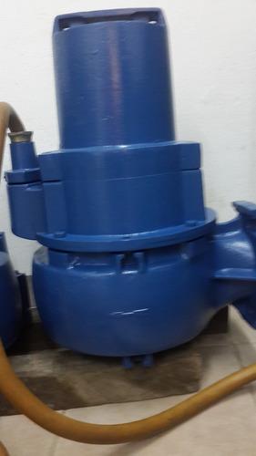 bomba sumegible de aguas servidas marca: ksb de 10 hp, 440 v
