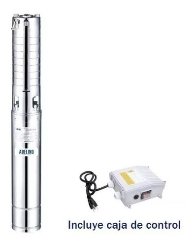 bomba sumergible 1 hp adelino 4sgm2/9