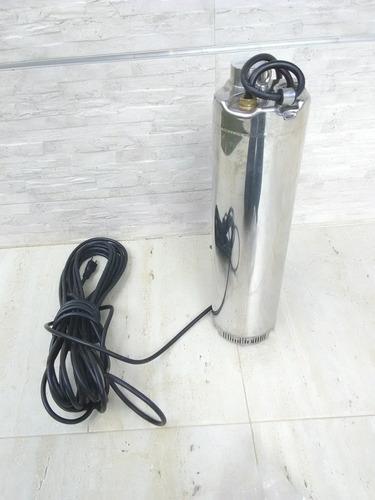bomba sumergible 1.5 hp 220v para aljibe