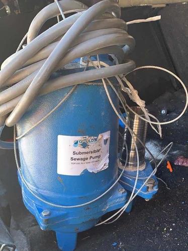 bomba sumergible 1.5 hp