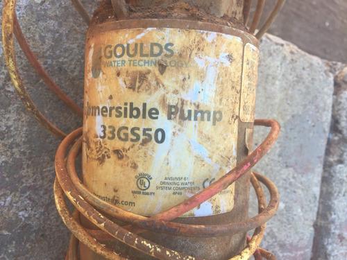 bomba sumergible 5 hp