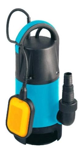 bomba sumergible 550w flustem agua limpia piletas desagote