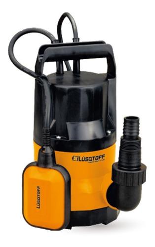 bomba sumergible agua limpia 400w desagote lusqtoff llp400