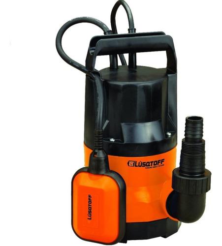 bomba sumergible agua limpia 900w 10mts lusqtoff llp900