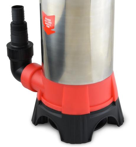 bomba sumergible agua sucia cloacal 1 hp acero inoxidable