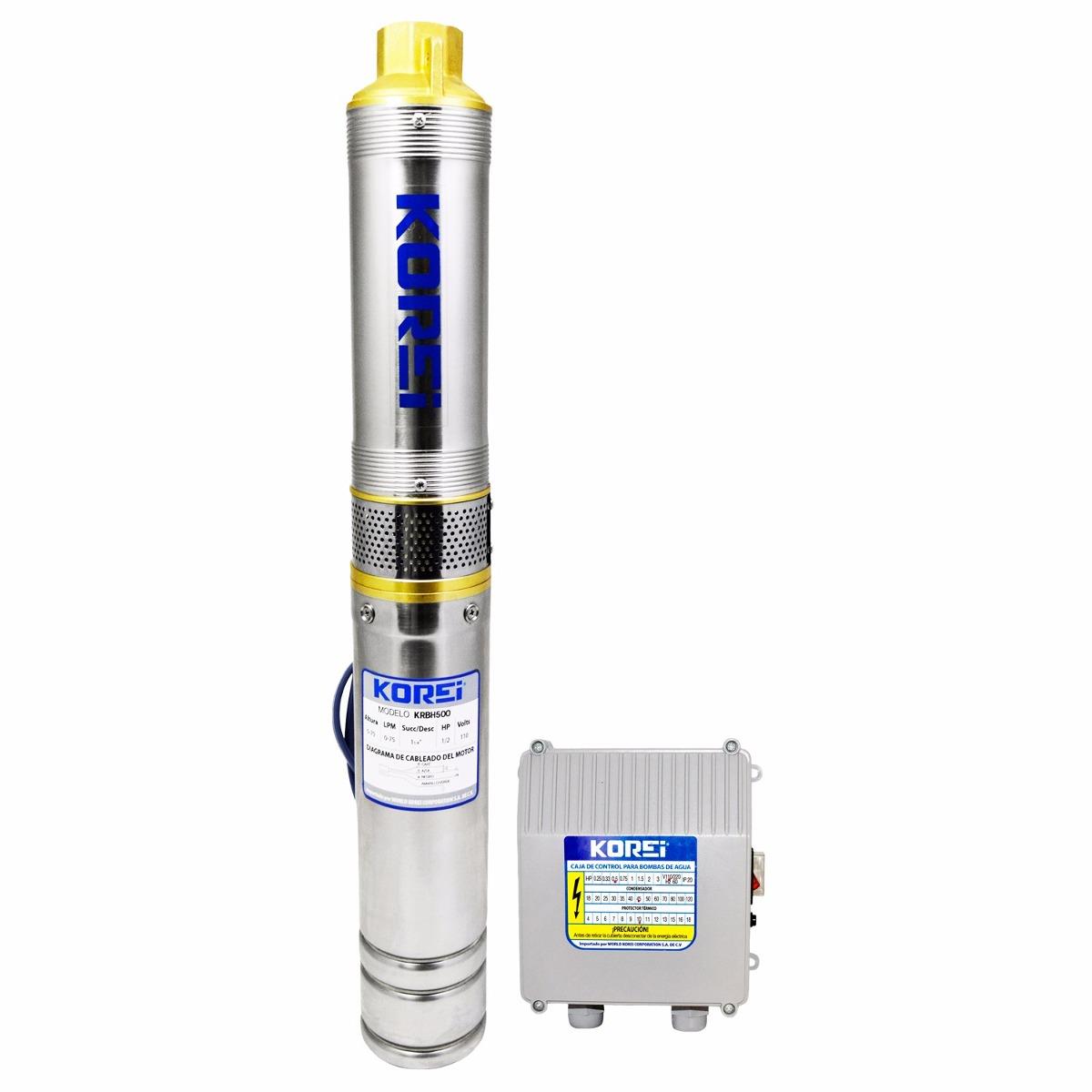 Bomba sumergible hyundai de 1 2 hp con cja de control - Bomba de agua sumergible ...