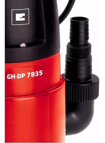 bomba sumergible de aguas sucias gh-dp 7835 einhell