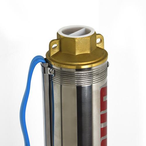 bomba sumergible de pozo omaha 2 hp 79 metros + tablero