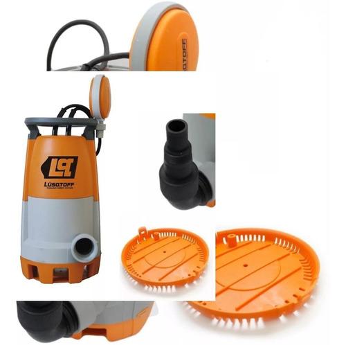 bomba sumergible desagote 750 watts agua sucia limpia pileta