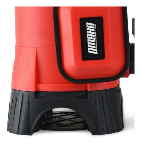 bomba sumergible desagote agua sucia cloacal omaha 1,0 hp